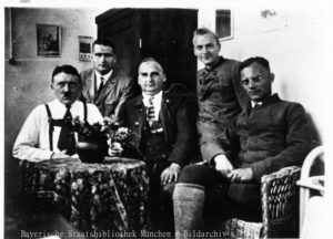 Hitler, Heß, Kriebel, N.N., Weber