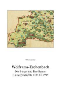Titelbild des Buches zeigt eine historische Karte von Wolframs-Eschenbach