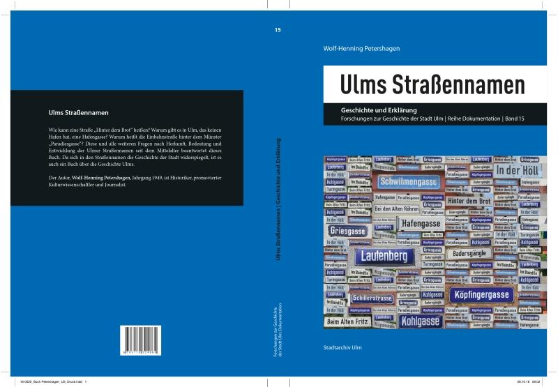 ULms Straßennamen. Geschichte und Erklärung.