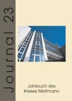 Journal 23, Jahrbuch des Kreises Mettmann 2003/2004-0