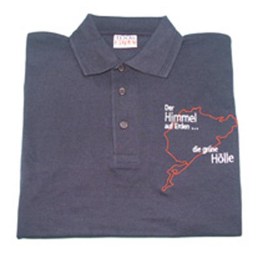 Das Ideallinie Konzept. Gezeigt am Beispiel des Nürburgrings – Polo-Shirt
