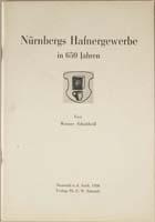 Nürnbergs Hafnergewerbe in 650 Jahren 1956-0