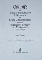 Erlebnisse der ansbach-bayreuthischen Hilfstruppe im Kriege Großbritanniens gegen die Vereinigten Staaten von Nordamerika (1777-1783)-0