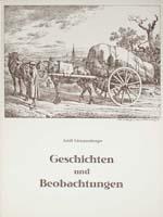 Geschichten und Beobachtungen (= Fürther Beiträge zur Geschichts- und Heimatkunde, Heft 4)-0