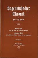 Hagenbüchacher Chronik von Pfarrer J. Blank-0