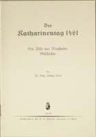 Der Katharinentag 1461. Ein Bild aus Neustadts Geschichte-0