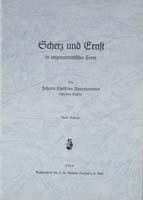 Scherz und Ernst in epigrammatischer Form-0