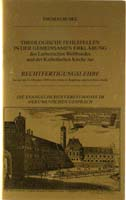 Theologische Fehlstellen in der gemeinsamen Erklärung des Lutherischen Weltbundes und der Katholischen Kirche-0