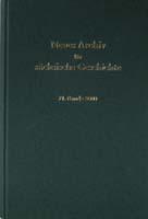 Neues Archiv für sächsische Geschichte, 71. Band, 2000. In Verbindung mit dem Institut für sächsische Geschichte und Volkskunde e.V.-0