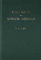 Neues Archiv für sächsische Geschichte, 66. Band, 1995. In Verbindung mit dem Institut für sächsische Geschichte und Volkskunde e.V.-0