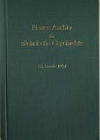 Neues Archiv für sächsische Geschichte, 68. Band, 1998. In Verbindung mit dem Institut für sächsische Geschichte und Volkskunde e.V.-0