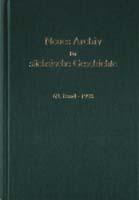 Neues Archiv für sächsische Geschichte, 69. Band, 1998. In Verbindung mit dem Institut für sächsische Geschichte und Volkskunde e.V.-0