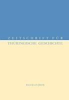Zeitschrift für Thüringische Geschichte, Band 63 (2009)-0