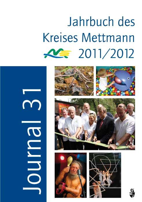 Journal 31. Jahrbuch des Kreises Mettmann 2011/2012.
