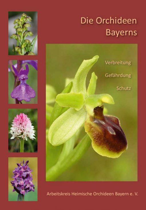Arbeitskreis Heimische Orchideen Bayern e.V. - Die Orchideen Bayerns. Verbreitung - Gefährdung - Schutz