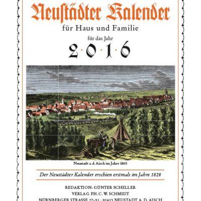 188 Jahre Neustädter Kalender für Haus und Familie für das Jahr 2016