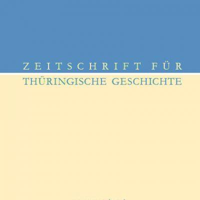 Zeitschrift für Thüringische Geschichte, Band 69 (2015)