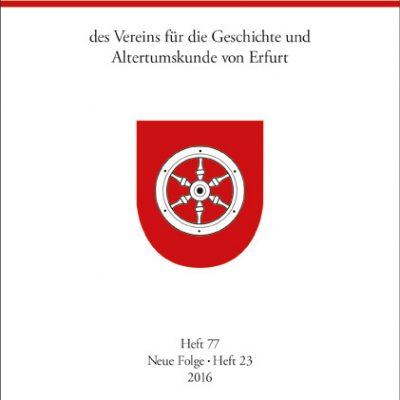 Verein für die Geschichte und Altertumskunde von Erfurt e.V. (Hg.)