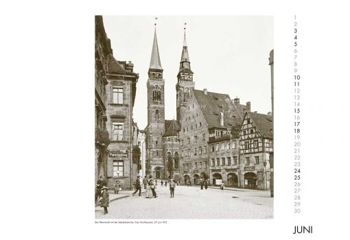 Facetten einer Stadt - Nürnberg in Fotografien 1900 bis 1918. Monatskalender 2017-557