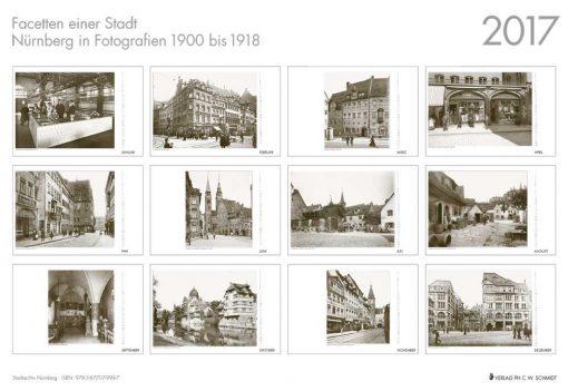 Facetten einer Stadt - Nürnberg in Fotografien 1900 bis 1918. Monatskalender 2017-556