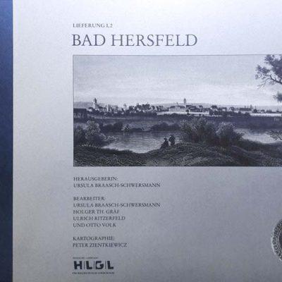 Hessisches Landesamt für geschichtliche Landeskunde - Hessischer Städteatlas - Bad Hersfeld