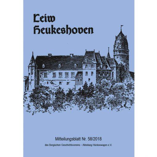 Leiw Heukeshoven Mitteilungsblatt 58/2018