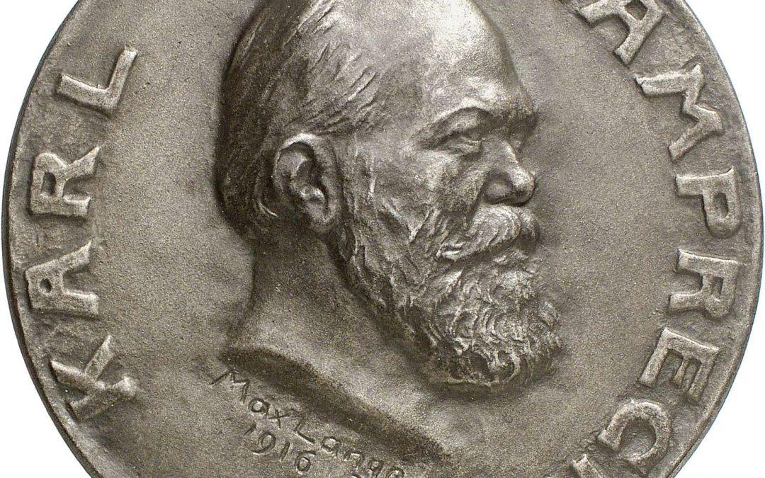 Karl-Lamprecht-Medaille an H. K. F. Schmidt verliehen