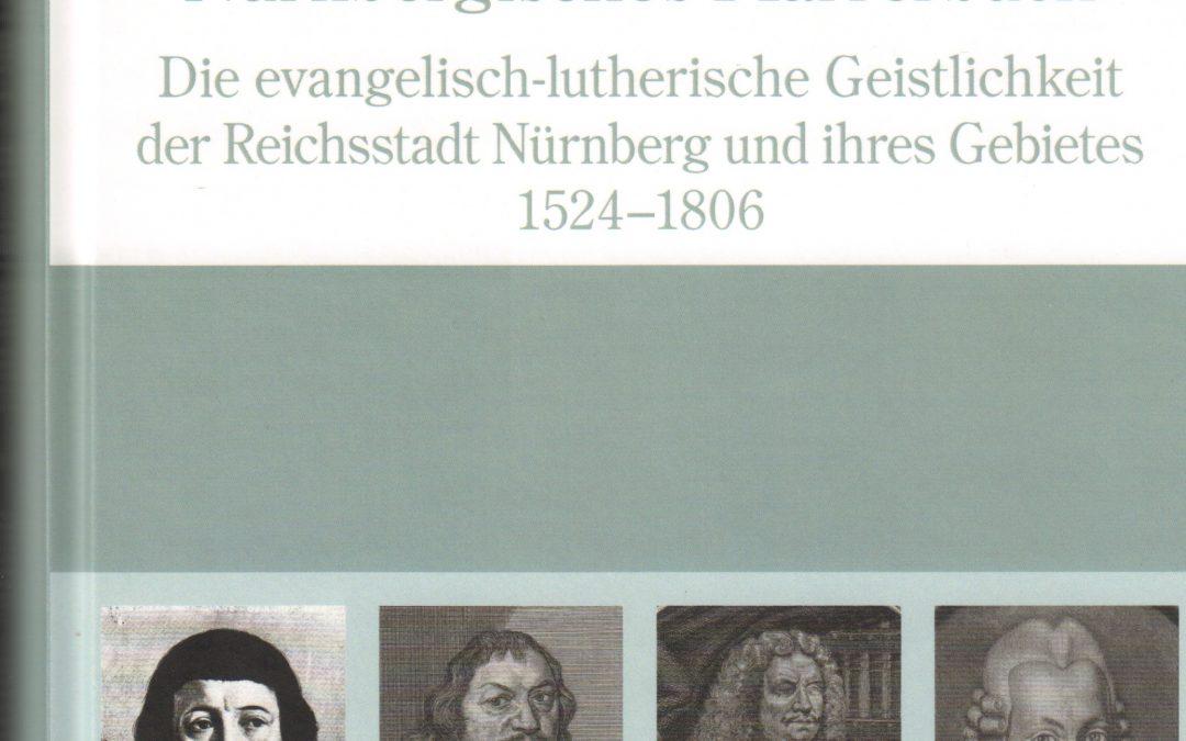 Neuauflage: Simon, Nürnbergisches Pfarrerbuch