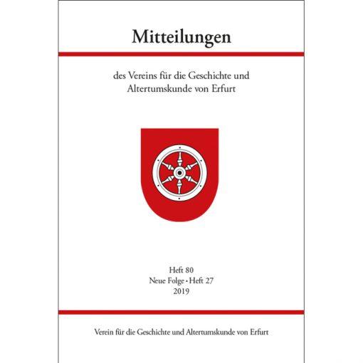 Mitteilungen Erfurt - Heft 80 (2019)