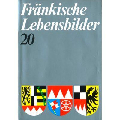 Fränkische Lebensbilder Band 20 Neue Folge der Lebensläufe aus Franken