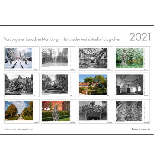 Verborgenes Barock in Nürnberg - Historische und aktuelle Fotografien 2