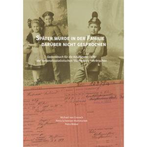 Buchtitel des Buches: Gedenkbuch für die Opfer der Euthanasie in Kaufbeuren
