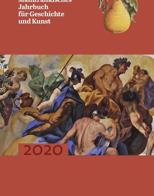 Soeben erschienen:  Der 72. Band des Mainfränkischen Jahrbuchs für Geschichte und Kunst