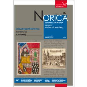 Zeigt das Cover von Norica: Berichte aus dem Stadtarchiv Nürnberg