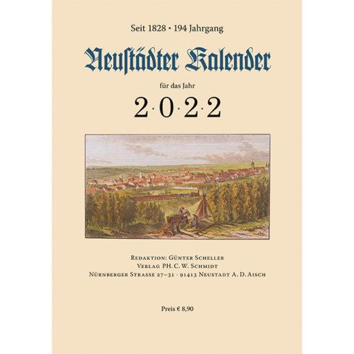Neustädter Kalender für Haus und Familie für das Jahr 2022. Seit 1828. 194. Jahrgang